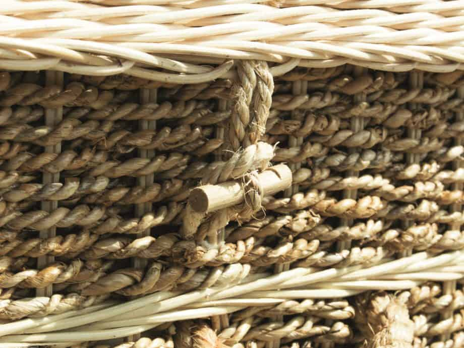 Woven coffin toggles